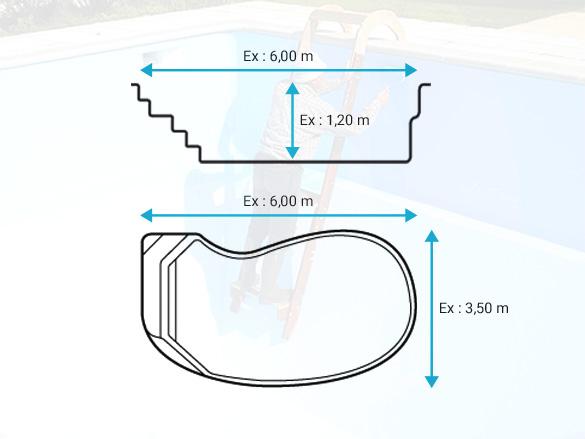 devis piscine en résine